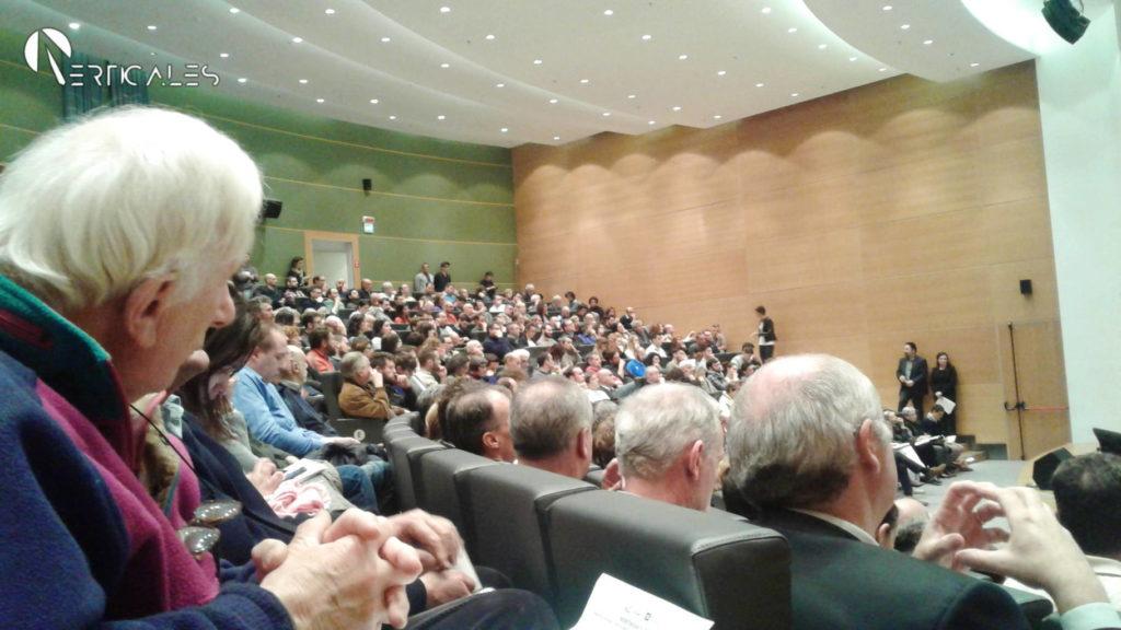 Il pubblico al convegno strategie digitali montagna Lombardia