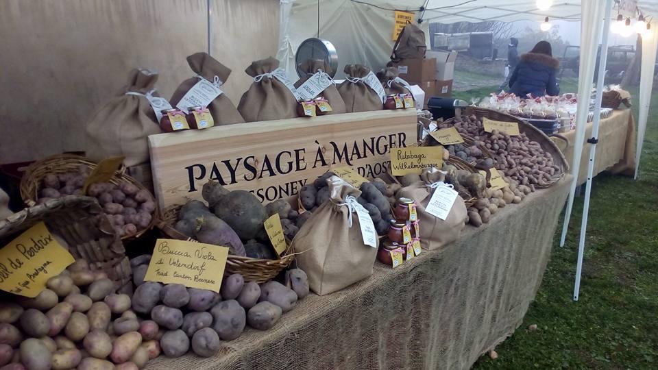 Paysage à Manger patate di montagna e ortaggi di qualità