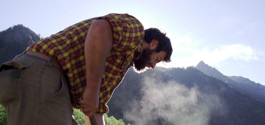 Federico Chierico Paysage à Manger Gressoney patate Monte Rosa