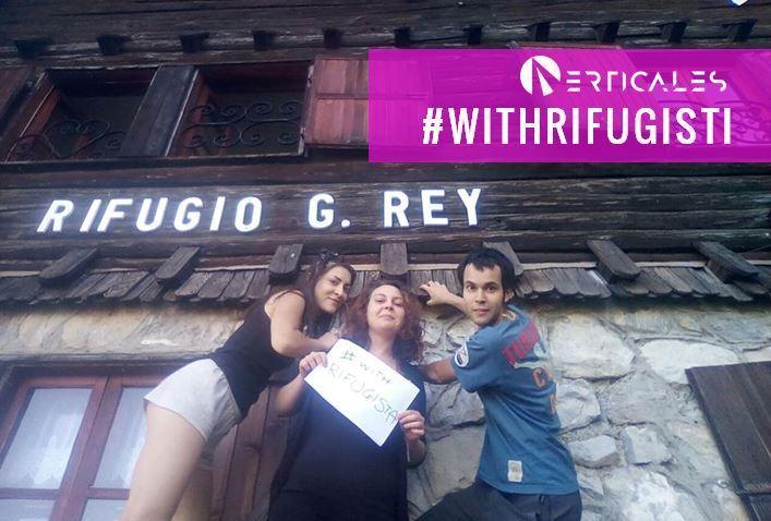 Hashtag #WithRifugista al Rifugio Guido Rey di Oulx