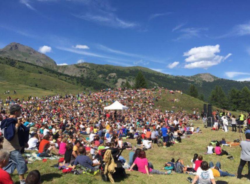 Concerto di Carmen Consoli a Vetan Valle d'Aosta