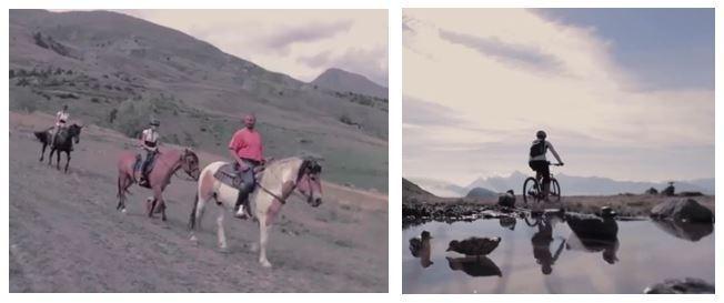 Foto tratte dal video promozionale trasmesso dal TGR Vda.