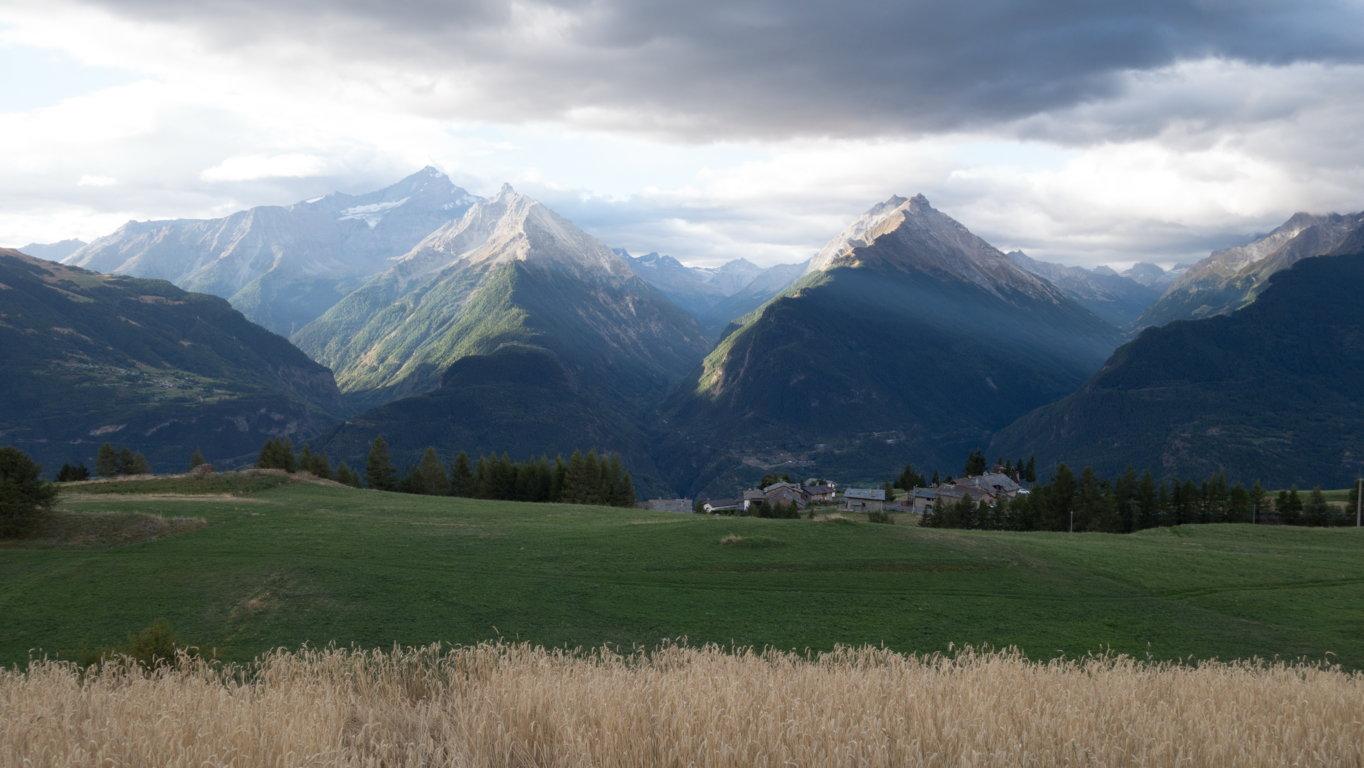 Vetan è una frazione del Comune di Saint Pierre, Aosta. (Foto: Federico Amanzio).