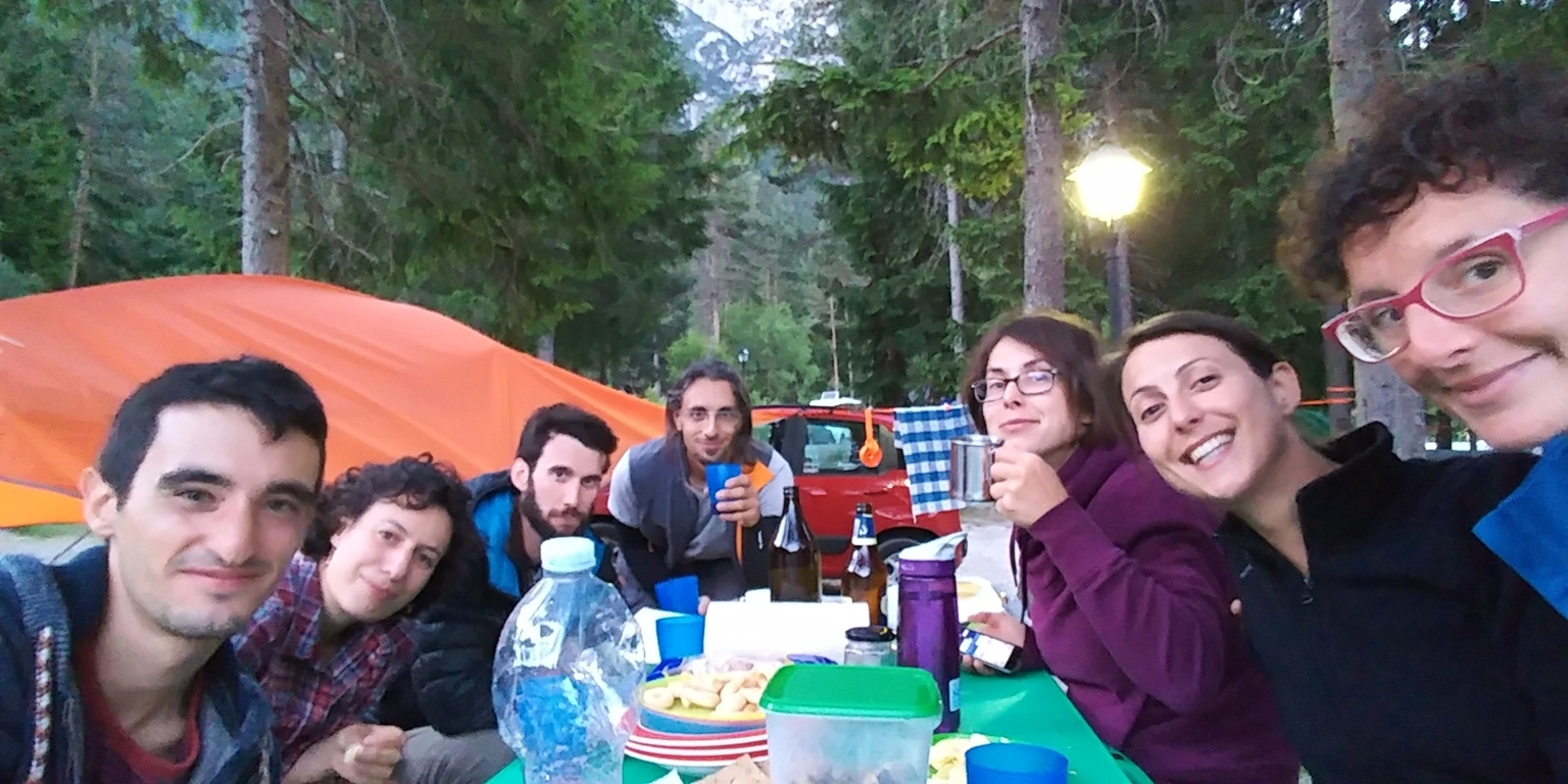 Blogger meeting al tree camp presso il Toblacher See Camping