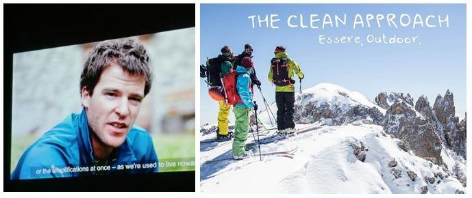 Nel docu-film trovo Tiziano Canella, giovane guida alpina della Val di Sole, noto in Valle di Susa come nipote della mia amica Marinella Manfredi. Bravo Tiziano!