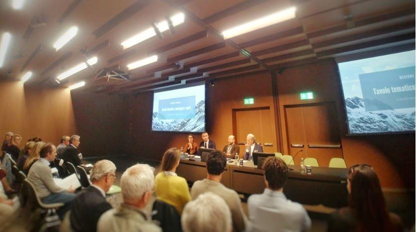 Presentazione carta etica del Piemonte alla Nuvola Lavazza