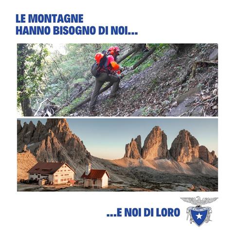le montagne hanno bisogno di noi